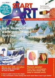 Start Art Magazine Cover