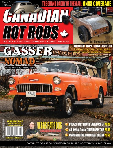 canadian hot rods magazine aprmay2016 subscriptions pocketmags. Black Bedroom Furniture Sets. Home Design Ideas