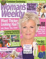 Woman#s Weekly Magazine Cover