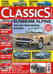 No. 240 Sunbeam Alpine  issue No. 240 Sunbeam Alpine