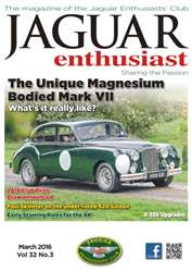Vol. 32 No. 3 The Unique Magnesium Bodied Mark II issue Vol. 32 No. 3 The Unique Magnesium Bodied Mark II