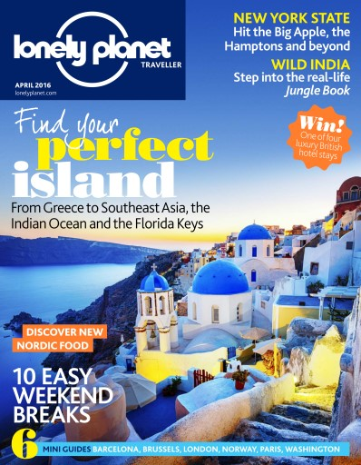 Lonely Planet Traveller Uk Magazine April 2016 Subscriptions