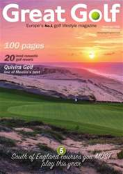 Great Golf Magazine March/April 2016 issue Great Golf Magazine March/April 2016