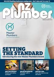NZ Plumber February-March 2016 issue NZ Plumber February-March 2016