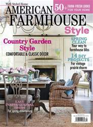 American Farmhouse Style Spring 2016 issue American Farmhouse Style Spring 2016