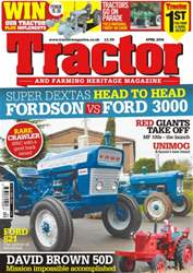 April 2016 Fordson VS Ford 3000 issue April 2016 Fordson VS Ford 3000