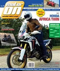 Motoron Magazine Cover