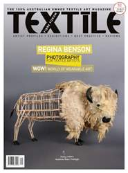 Textile Fibre Forum Issue 121 issue Textile Fibre Forum Issue 121