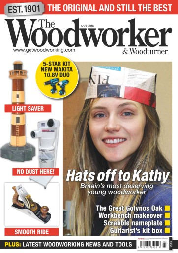 The Woodworker Magazine April 2016 Subscriptions Pocketmags