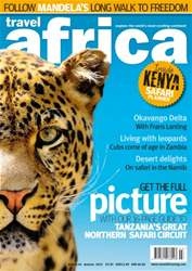 Travel Africa Magazine Cover