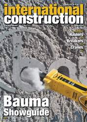 International Construction Magazine Cover