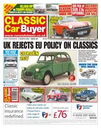 No. 321 UK Rejects EU Policy On Classics issue No. 321 UK Rejects EU Policy On Classics