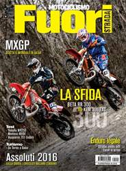 Motociclismo Fuoristrada 4 2016  issue Motociclismo Fuoristrada 4 2016