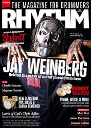 Rhythm Magazine Cover