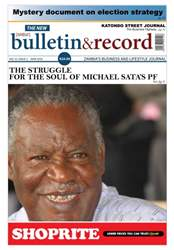 The Bulletin & Record Magazine Cover