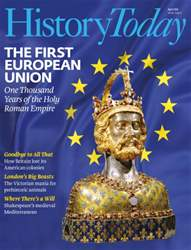 History Today Magazine Cover