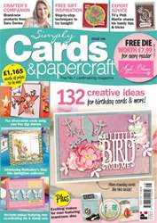 Simply Cards & Papercraft Magazine Cover