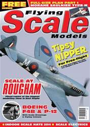 Flying Scale Models Magazine Cover