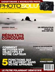 Photo Solution Avril/Mai 2016 issue Photo Solution Avril/Mai 2016