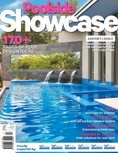 Poolside showcase magazine issue 24 2016 subscriptions for Pool design magazine