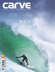 Carve Surfing Magazine issue 168 issue Carve Surfing Magazine issue 168