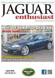 Vol. 32 No. 4 Win our new Prize Draw XK issue Vol. 32 No. 4 Win our new Prize Draw XK