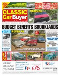No. 323 Budget Benefits Brooklands issue No. 323 Budget Benefits Brooklands