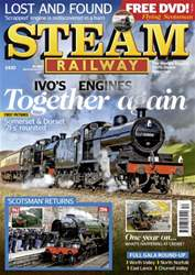 Steam Railway Magazine Cover