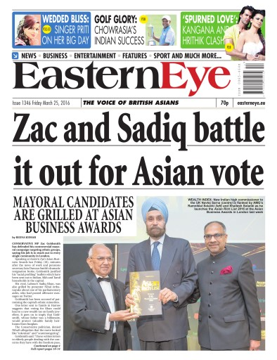 Eastern Eye Newspaper Preview
