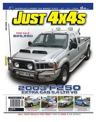 JUST 4X4 Sept Issue 259 issue JUST 4X4 Sept Issue 259