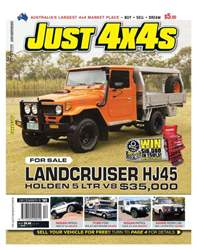 JUST 4X4 Dec Issue 262 issue JUST 4X4 Dec Issue 262