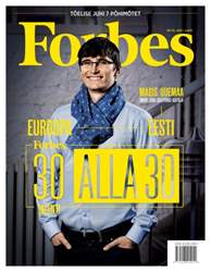 Forbes Estonia #38 issue Forbes Estonia #38