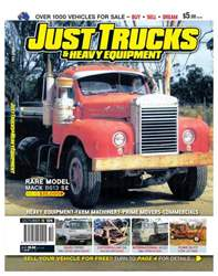 JUST TRUCKS Oct Issue 124 issue JUST TRUCKS Oct Issue 124