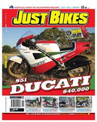 JUST BIKES Nov Issue 269 issue JUST BIKES Nov Issue 269