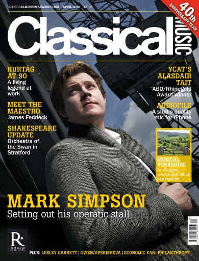 Classical Music Digital Issue
