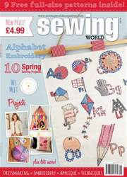 Sewing World Magazine Cover