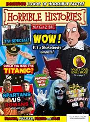 Horrible Histories Magazine Cover