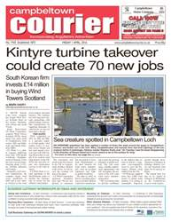 Campbeltown Courier Magazine Cover
