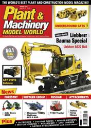 Plant & Machinery Model World Magazine Cover