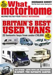 What Motorhome magazine Magazine Cover