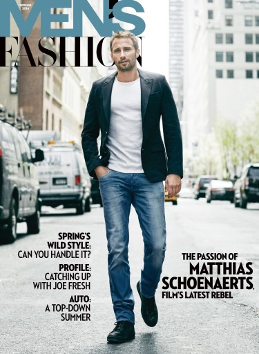 ee146cae44a Fashion Magazine - Men s Spring 2016 Subscriptions