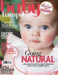 Baby Hampshire Magazine Cover