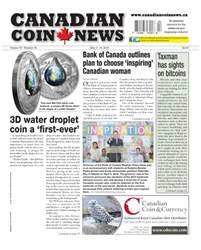 Canadian Coin News Magazine Cover