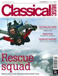Classical Music 19th Nov 2011 issue Classical Music 19th Nov 2011