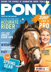 PONY magazine – May 2016 issue PONY magazine – May 2016