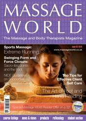 Massage World Issue 92 issue Massage World Issue 92