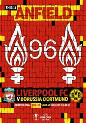 Liverpool v Borussia Dortmund Europa League 201516 issue Liverpool v Borussia Dortmund Europa League 201516