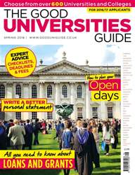 The Good Universities Guide Spring 2016 issue The Good Universities Guide Spring 2016