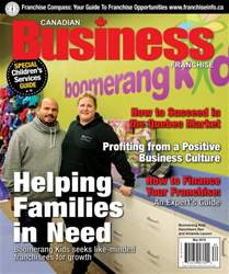 Canadian Business Franchise Magazine Cover