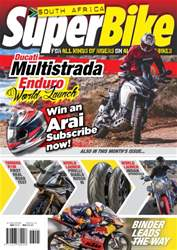 SuperBike South Africa Magazine Cover